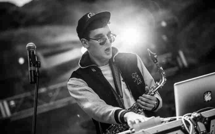 GRiZ live performance saxophone