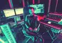 Don Diablo studio keyboards keyboard