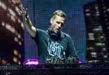Kaskade DJing live in concert