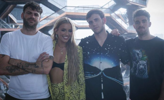 The Chainsmokers Alex Pall Andrew Taggart Illenium Nicholas Miller Bebe Rexha
