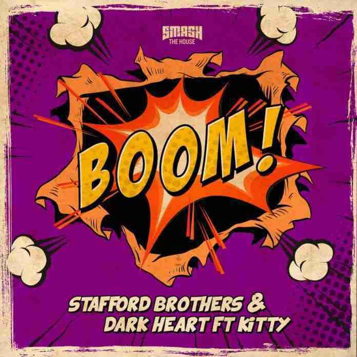 Stafford Brothers Dark Heart Kitty Boom Smash The House