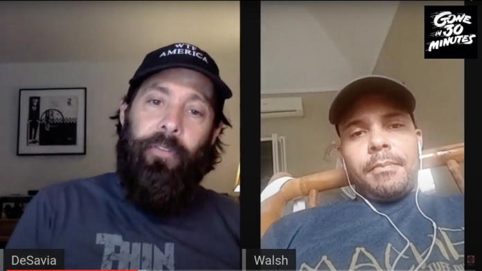 Tom DeSavia Walshy Fire Gone in 30 Minutes Concord Podcast Video Series