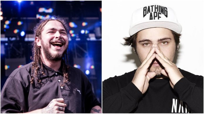Post Malone Jauz Hollywood's Bleeding Remix
